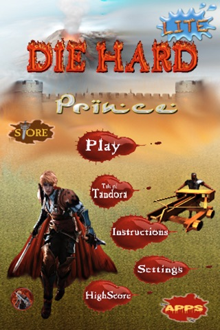 Die Hard Prince™ Lite screenshot 1