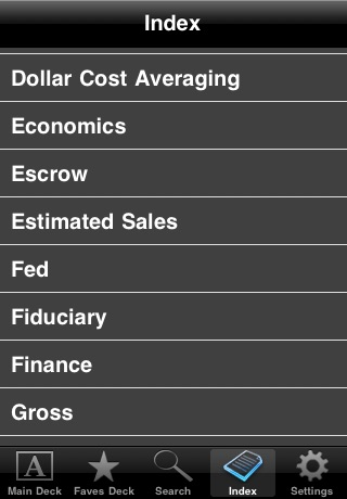 Screenshot of Essential Finance (Free!)