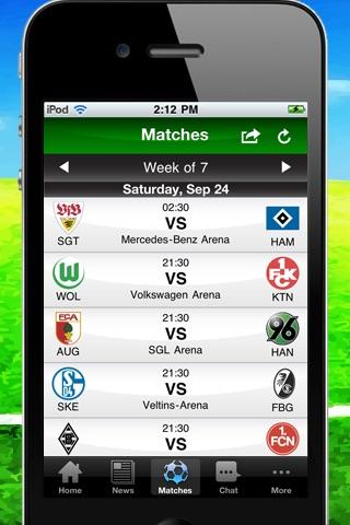 German Bundesliga 2011/12 - Lite screenshot 3