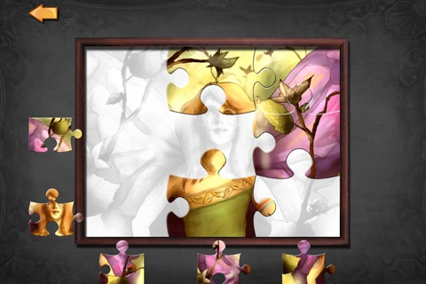 Magic Fairies - Fairy jigsaw and coloring book screenshot 2