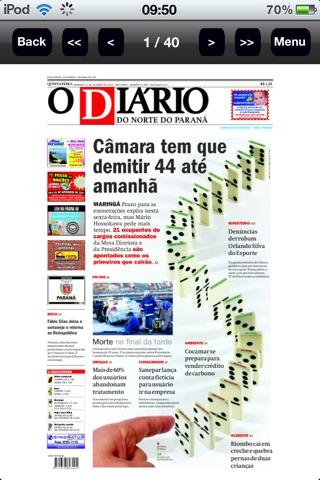 O Diário screenshot 2