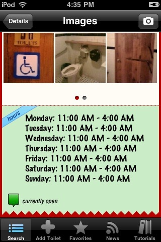 SitOrSquat: Bathroom Finder screenshot 3