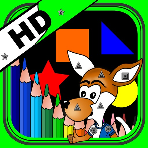 Color by Shapes HD iOS App
