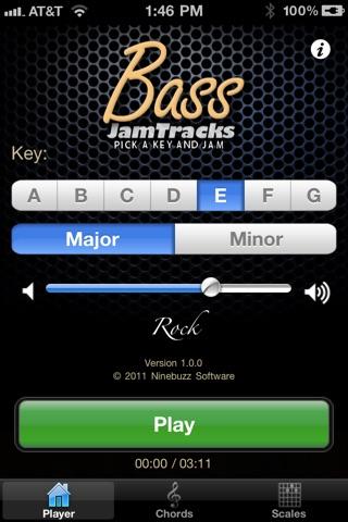Screenshot #1 for Bass Jam Tracks: Rock
