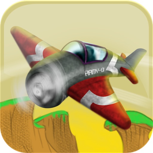 Army Airplane Landing Lite Icon