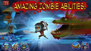 Screenshots of Samurai vs Zombies Defense for iPhone