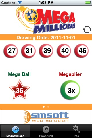 USA Lottery screenshot 1
