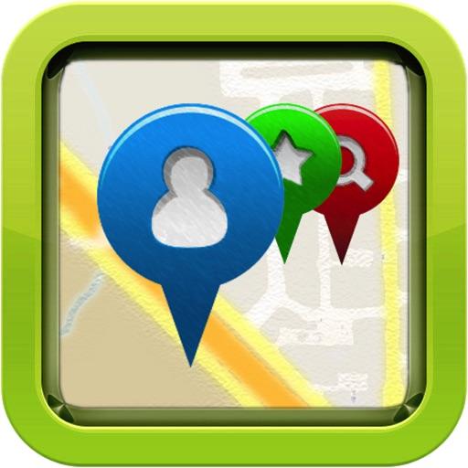 【最快分享彼此的位置】位置跟踪器