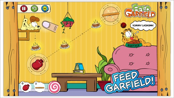 Feed Garfield Screenshot