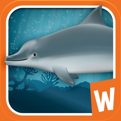 鲸鱼鲨鱼拼图:Jigsaw Puzzle with Whales and Sharks【认识海洋生物】