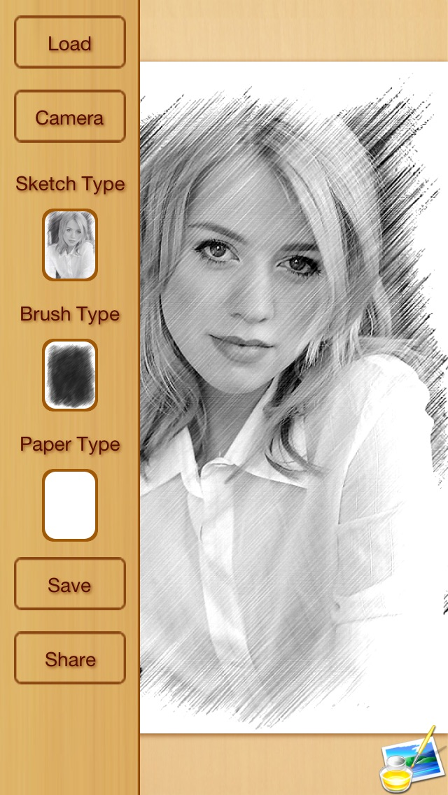 Screenshots of Artist's Sketch - Free for iPhone