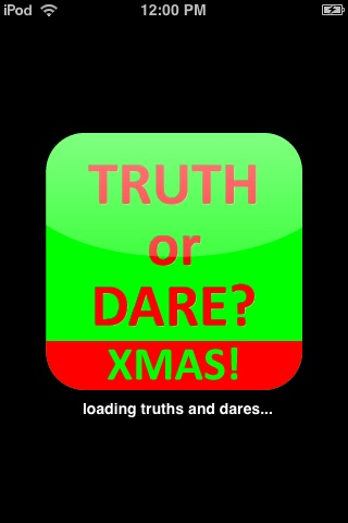 Screenshots of Xmas Truth or Dare for iPhone