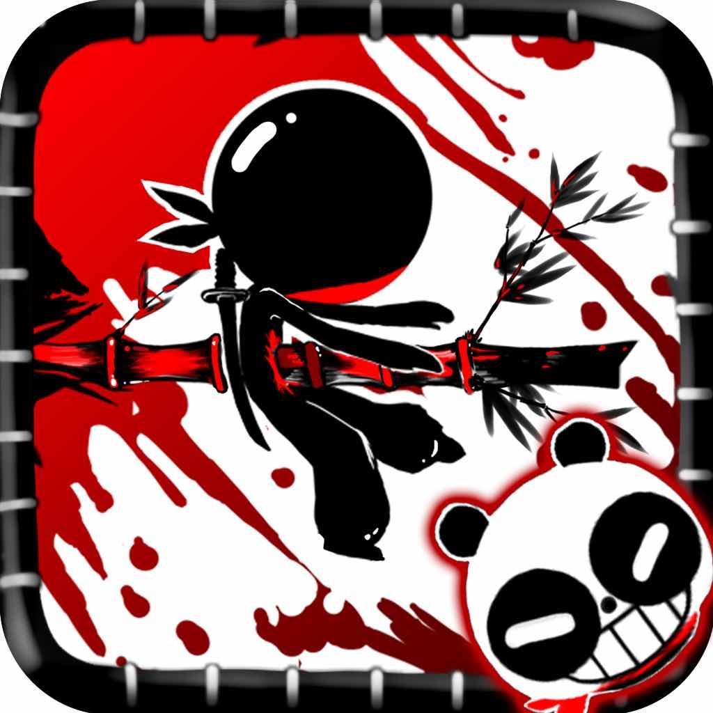 黑熊猫可爱头像