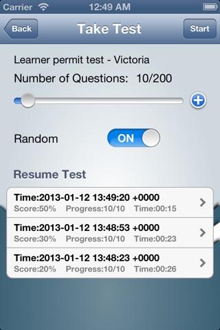 Australian Driver – Victorian Learner Permit Practice Test screenshot 4