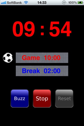 FootsalTimer screenshot 1
