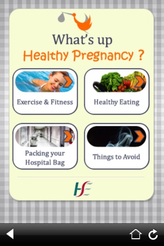 What's Up Healthy PregnancyScreenshot of 1