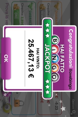 Screenshot of Real Money Bingo1