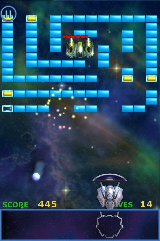 Meteor - Brick Breaker screenshot 4