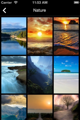 Wallpapers iOS 7 Edition Pro screenshot 4