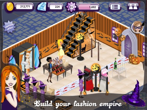 ipad screenshot 3 - Halloween Fashion Games