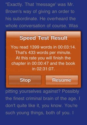 QuickReader - Speed Reading screenshot 3