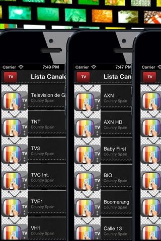 TV España-toda la TDT para ver la programación screenshot 2