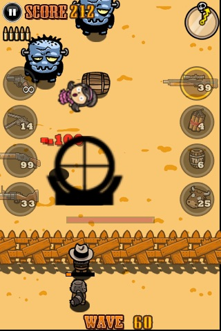 Cowboy vs. Zombies screenshot 2