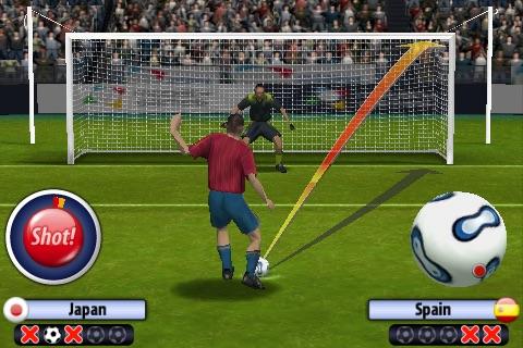 3D Penalty Football World Champ screenshot 1
