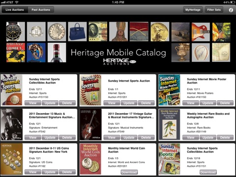 Heritage Mobile Catalog screenshot 1