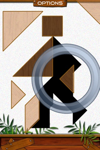 Tans Block Free - Simple Classic Tangram Puzzle Game screenshot 1