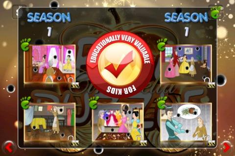 Ball Puzzle Cinderella - Imagination Stairs - ball game app screenshot 4