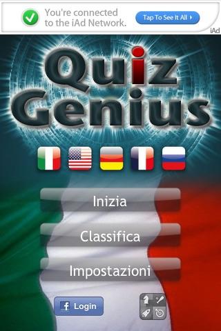 Screenshot of Quiz Genius Free4