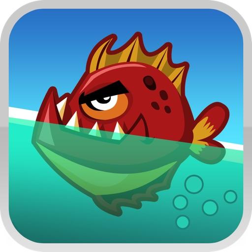 狂怒鱼:Fish Fury【点切游戏】