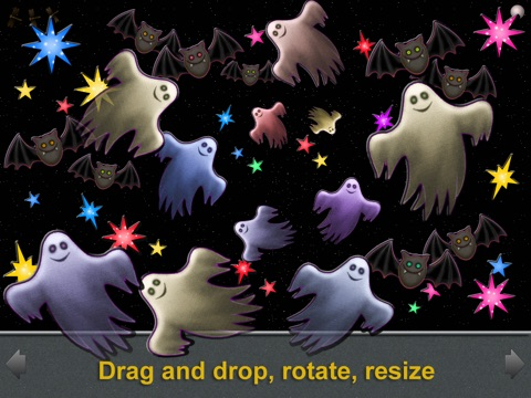 Animated Boo! Halloween Magic Shape Puzzles for Kids and SuperKids screenshot 2