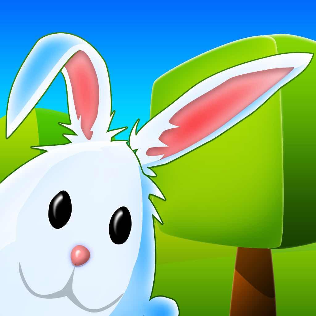 分隔线素材兔子