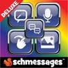 Schmessages Pro Color,  Glow,  & Doodle Text Messages Designer