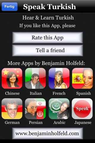 Speak Turkish Screenshot