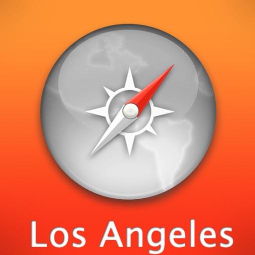 洛杉矶自由行地图