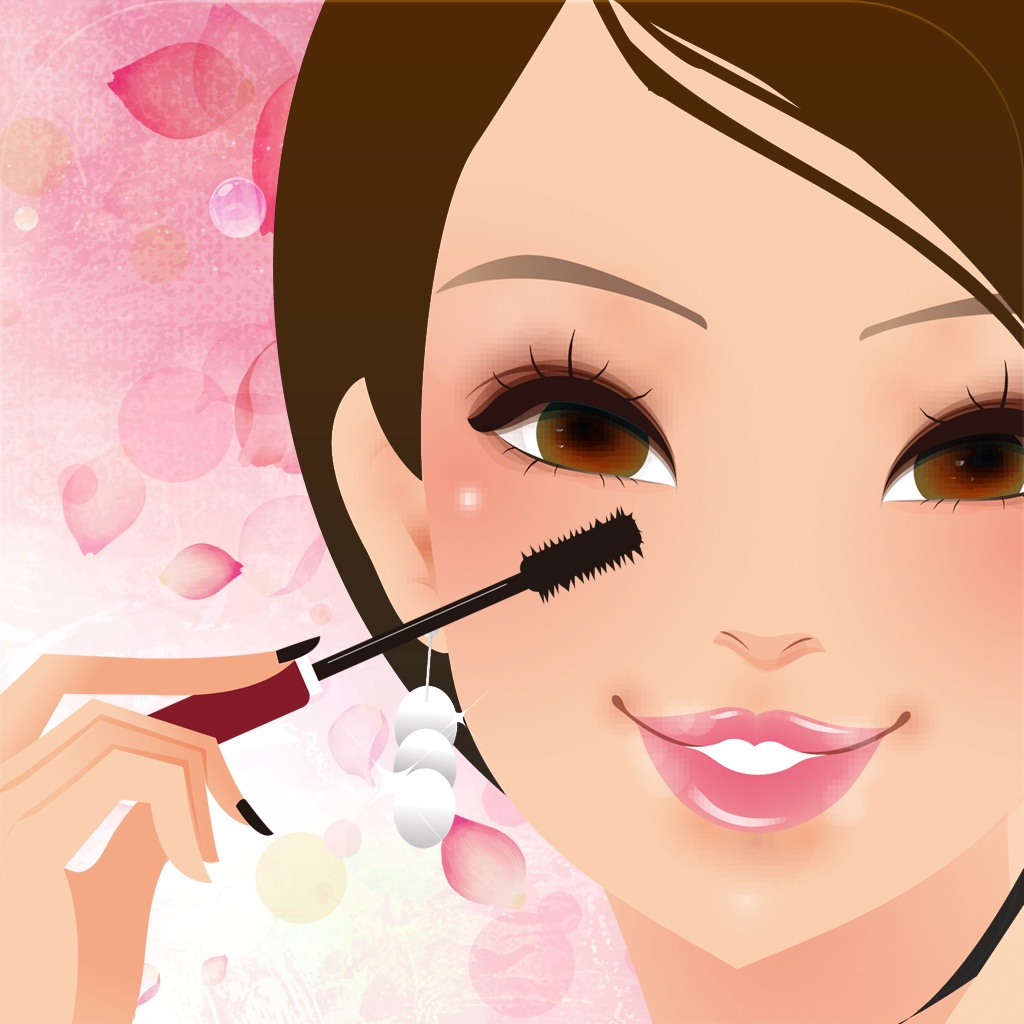 小清新卡通美妆图片图片