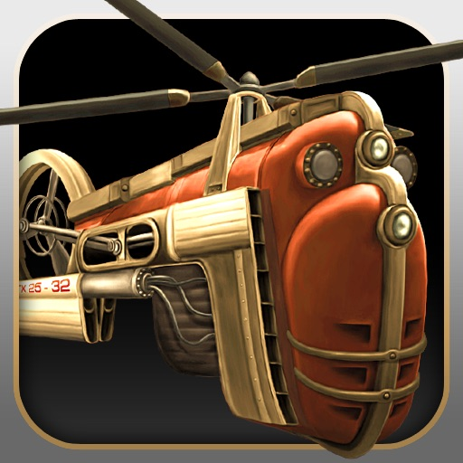 蒸汽直升机大冒险:Gyro13 – Steam Copter Arcade HD
