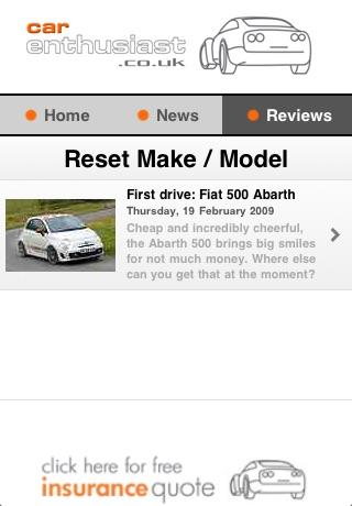 Car Enthusiast screenshot 4