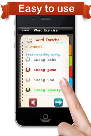 Learn Tagalog™ screenshot 3