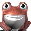 Talking Frog 3D: Funny Baby Cartoon Green Virtual Friend
