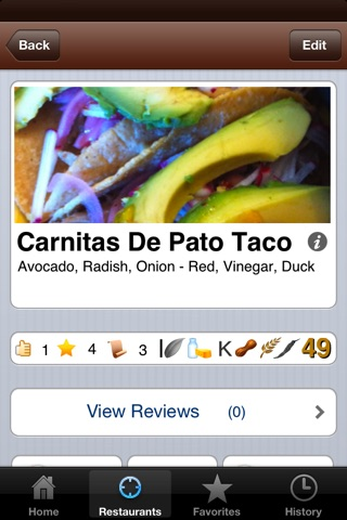 dishapedia for iPhone screenshot 3