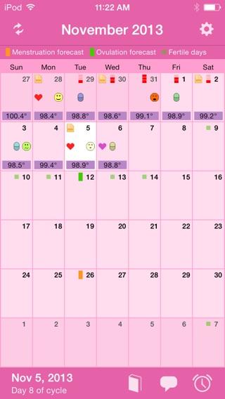 Menstrual Calendar on the App Store