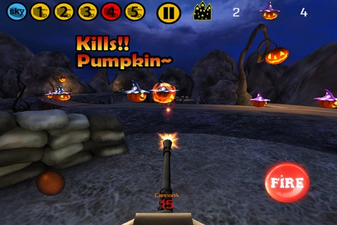 HalloweenDefence-Free screenshot 1