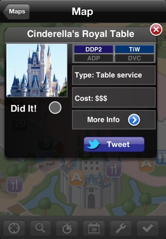 Walt Disney World Magic Kingdom Mini Guide screenshot 2