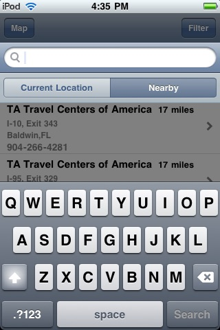 Truck Stop Locator screenshot 4