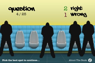 Screenshots of Urinal Test for iPhone