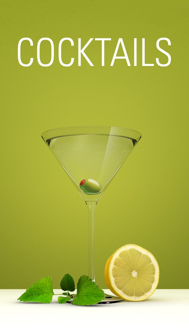 The Cocktail App screenshot1